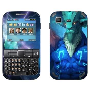 Виниловая наклейка «Leshrak  - Dota 2» на телефон Samsung C3222 Duos