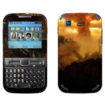 Виниловая наклейка «Nuke, Starcraft 2» на телефон Samsung C3222 Duos