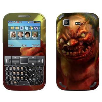 Виниловая наклейка «Pudge - Dota 2» на телефон Samsung C3222 Duos