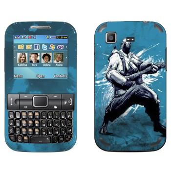 Виниловая наклейка «Pyro - Team fortress 2» на телефон Samsung C3222 Duos