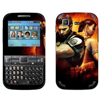Виниловая наклейка «Resident Evil игра» на телефон Samsung C3222 Duos