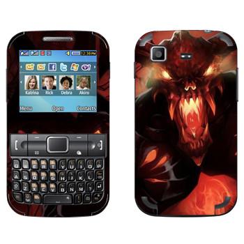 Виниловая наклейка «Shadow Fiend - Dota 2» на телефон Samsung C3222 Duos