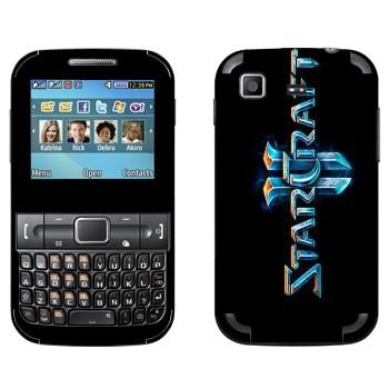 Виниловая наклейка «Starcraft 2 логотип вертикальный» на телефон Samsung C3222 Duos