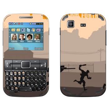 Виниловая наклейка «Team fortress 2» на телефон Samsung C3222 Duos