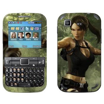 Виниловая наклейка «Tomb Raider» на телефон Samsung C3222 Duos