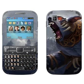 Виниловая наклейка «Ursa  - Dota 2» на телефон Samsung C3222 Duos