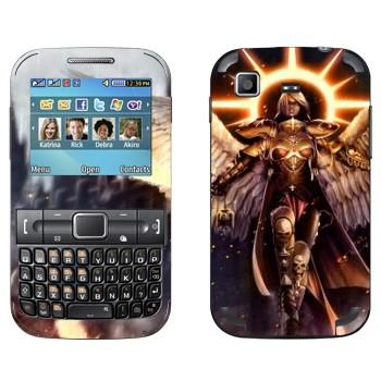 Виниловая наклейка «Warhammer Ангел» на телефон Samsung C3222 Duos