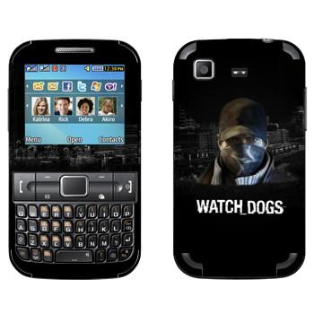 Виниловая наклейка «Watch Dogs - Эйден Пирс» на телефон Samsung C3222 Duos