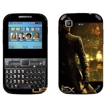 Виниловая наклейка «Адам Дженсен - Deus Ex 3» на телефон Samsung C3222 Duos