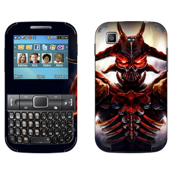 Виниловая наклейка «Ah Puch : Smite Gods» на телефон Samsung C3222 Duos
