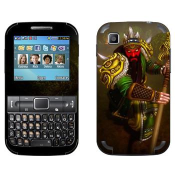 Виниловая наклейка «Ao Kuang : Smite Gods» на телефон Samsung C3222 Duos