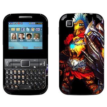 Виниловая наклейка «Ares : Smite Gods» на телефон Samsung C3222 Duos
