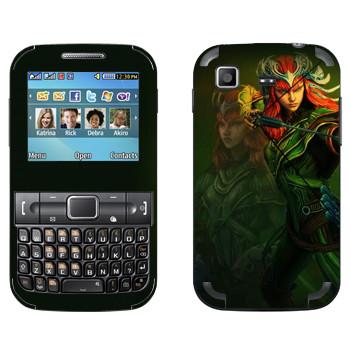 Виниловая наклейка «Artemis : Smite Gods» на телефон Samsung C3222 Duos