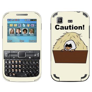 Виниловая наклейка «Assassins creed art» на телефон Samsung C3222 Duos