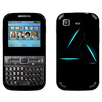 Виниловая наклейка «Assassins creed треугольник» на телефон Samsung C3222 Duos