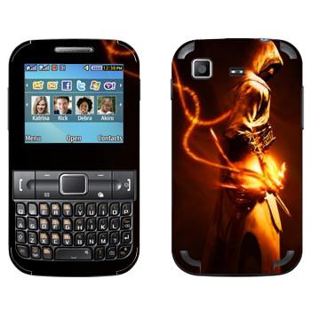 Виниловая наклейка «Assassins creed в золотом» на телефон Samsung C3222 Duos