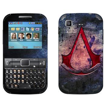 Виниловая наклейка «Assassins creed знак» на телефон Samsung C3222 Duos
