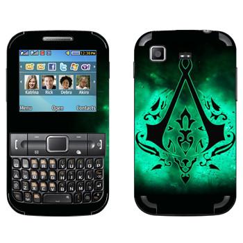 Виниловая наклейка «Assassins лого» на телефон Samsung C3222 Duos