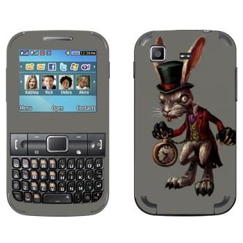 Виниловая наклейка «Белый Кролик - Америкэн Макги: Алиса» на телефон Samsung C3222 Duos