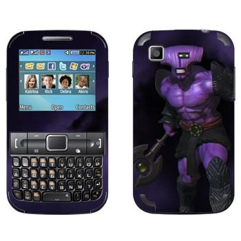 Виниловая наклейка «Безликий ужас - Dota 2» на телефон Samsung C3222 Duos