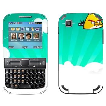 Виниловая наклейка «Чак - Angry Birds» на телефон Samsung C3222 Duos