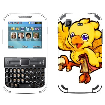 Виниловая наклейка «Чокобо - Final Fantasy» на телефон Samsung C3222 Duos