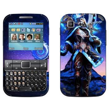 Виниловая наклейка «Chronos : Smite Gods» на телефон Samsung C3222 Duos