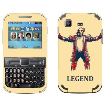 Виниловая наклейка «Dark Souls легенда» на телефон Samsung C3222 Duos