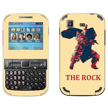 Виниловая наклейка «Dark Souls Скала» на телефон Samsung C3222 Duos
