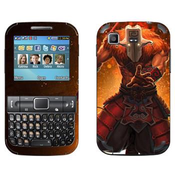 Виниловая наклейка «Джаггернаут - Dota 2» на телефон Samsung C3222 Duos