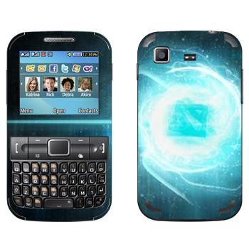 Виниловая наклейка «Dota energy» на телефон Samsung C3222 Duos