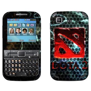 Виниловая наклейка «Dota турнир» на телефон Samsung C3222 Duos