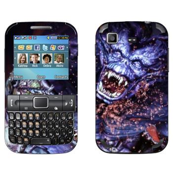 Виниловая наклейка «Dragon Age - Демон» на телефон Samsung C3222 Duos