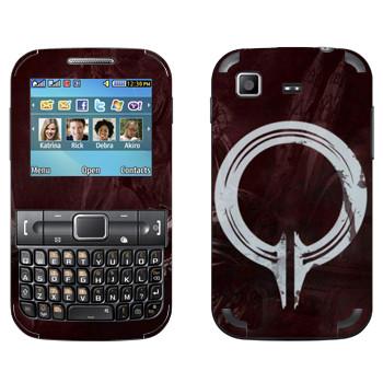 Виниловая наклейка «Dragon Age - Инквизиция» на телефон Samsung C3222 Duos