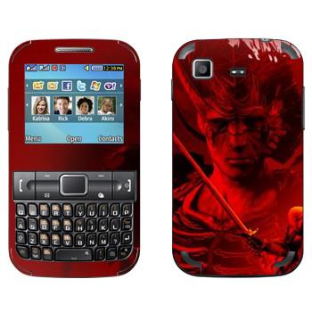Виниловая наклейка «Dragon Age - Схватка» на телефон Samsung C3222 Duos