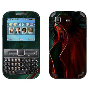 Виниловая наклейка «Dragon Age - Тьма» на телефон Samsung C3222 Duos