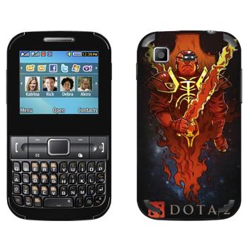 Виниловая наклейка «Драгон Кнайт» на телефон Samsung C3222 Duos