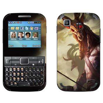 Виниловая наклейка «Drakensang deer» на телефон Samsung C3222 Duos