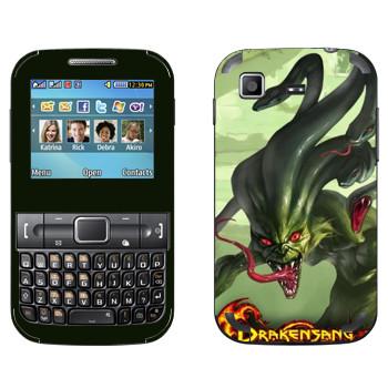 Виниловая наклейка «Drakensang Gorgon» на телефон Samsung C3222 Duos