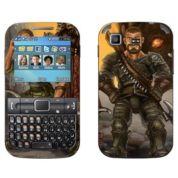 Виниловая наклейка «Drakensang pirate» на телефон Samsung C3222 Duos