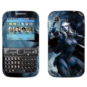 Виниловая наклейка «Дроу Рейнджер - Dota 2» на телефон Samsung C3222 Duos