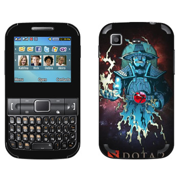 Виниловая наклейка «Дух Бури - Dota 2» на телефон Samsung C3222 Duos