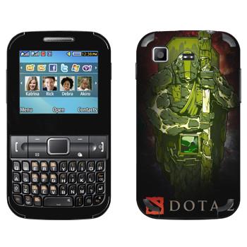 Виниловая наклейка «Дух Земли - Dota 2» на телефон Samsung C3222 Duos