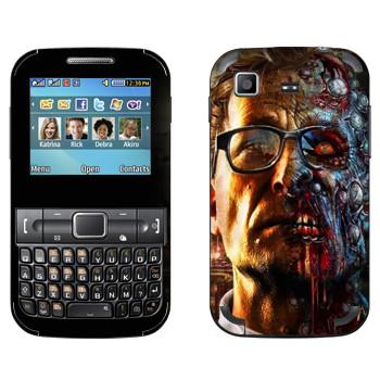 Виниловая наклейка «Dying Light  - профессор зомби» на телефон Samsung C3222 Duos