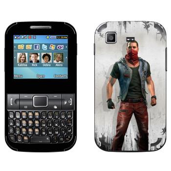 Виниловая наклейка «Dying Light - Кайл Крейн» на телефон Samsung C3222 Duos