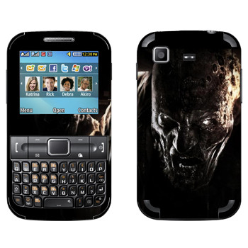 Виниловая наклейка «Dying Light глаза зомби» на телефон Samsung C3222 Duos