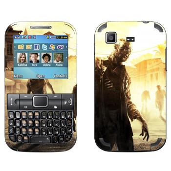 Виниловая наклейка «Dying Light солнечный денек» на телефон Samsung C3222 Duos