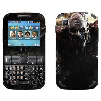 Виниловая наклейка «Dying Light страшный зомби» на телефон Samsung C3222 Duos