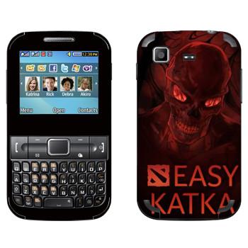 Виниловая наклейка «Easy Katka ад» на телефон Samsung C3222 Duos