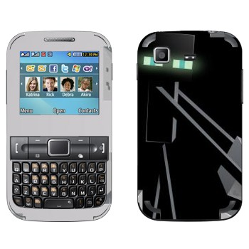 Виниловая наклейка «Эндермен - Minecraft» на телефон Samsung C3222 Duos